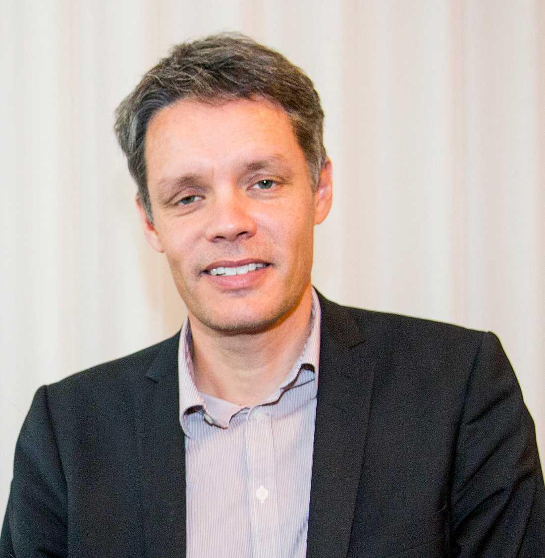 Ulf Danielsson, professorn i teoretisk fysik.