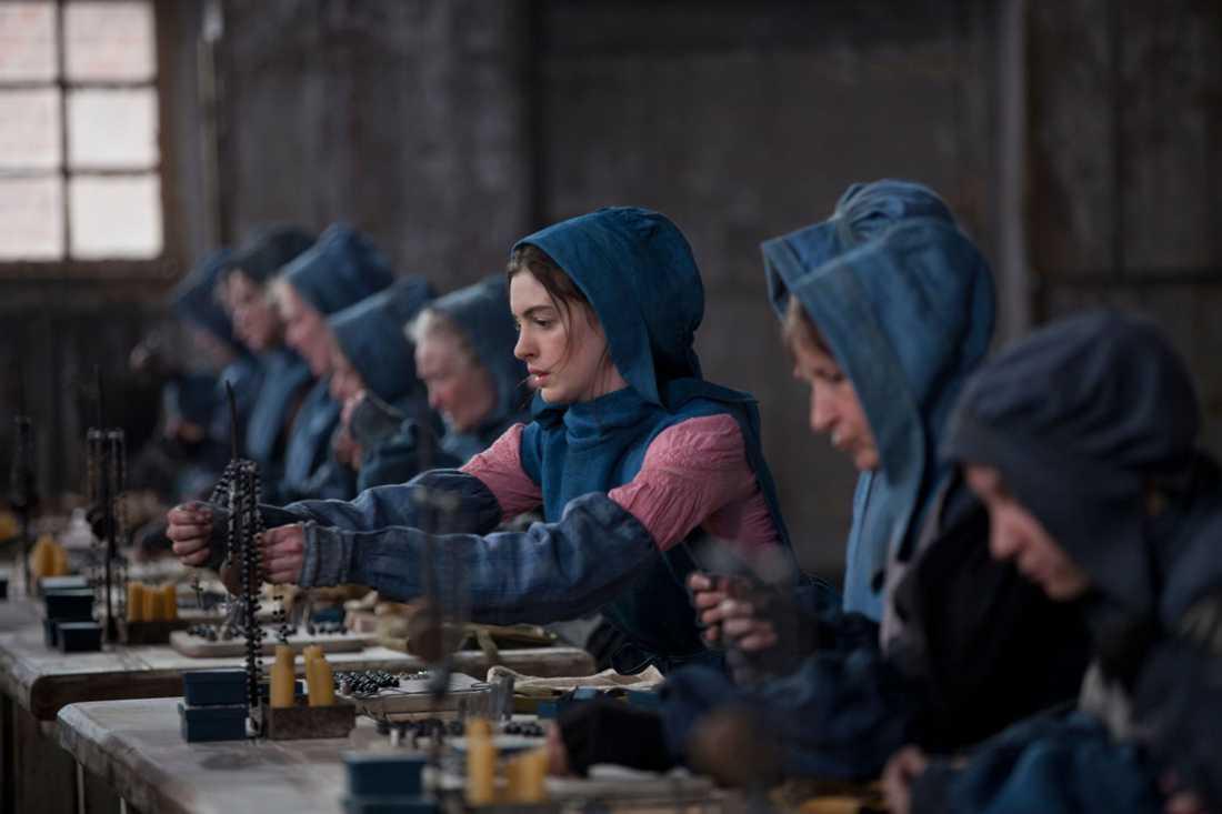 Anne Hathaway Ur filmen Les Miserables