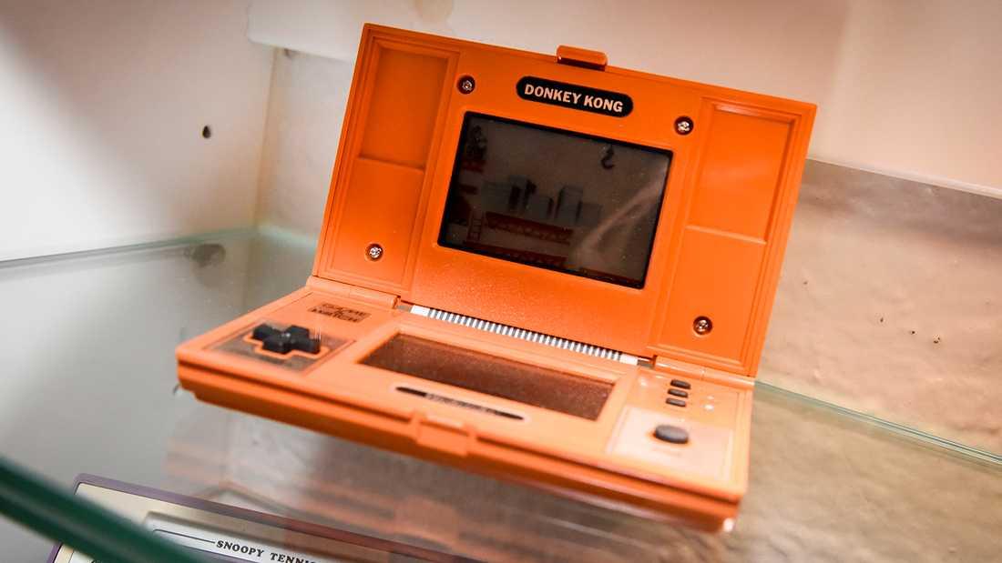 Det första Donkey Kong-spelet lanserades av Nintendo 1981.