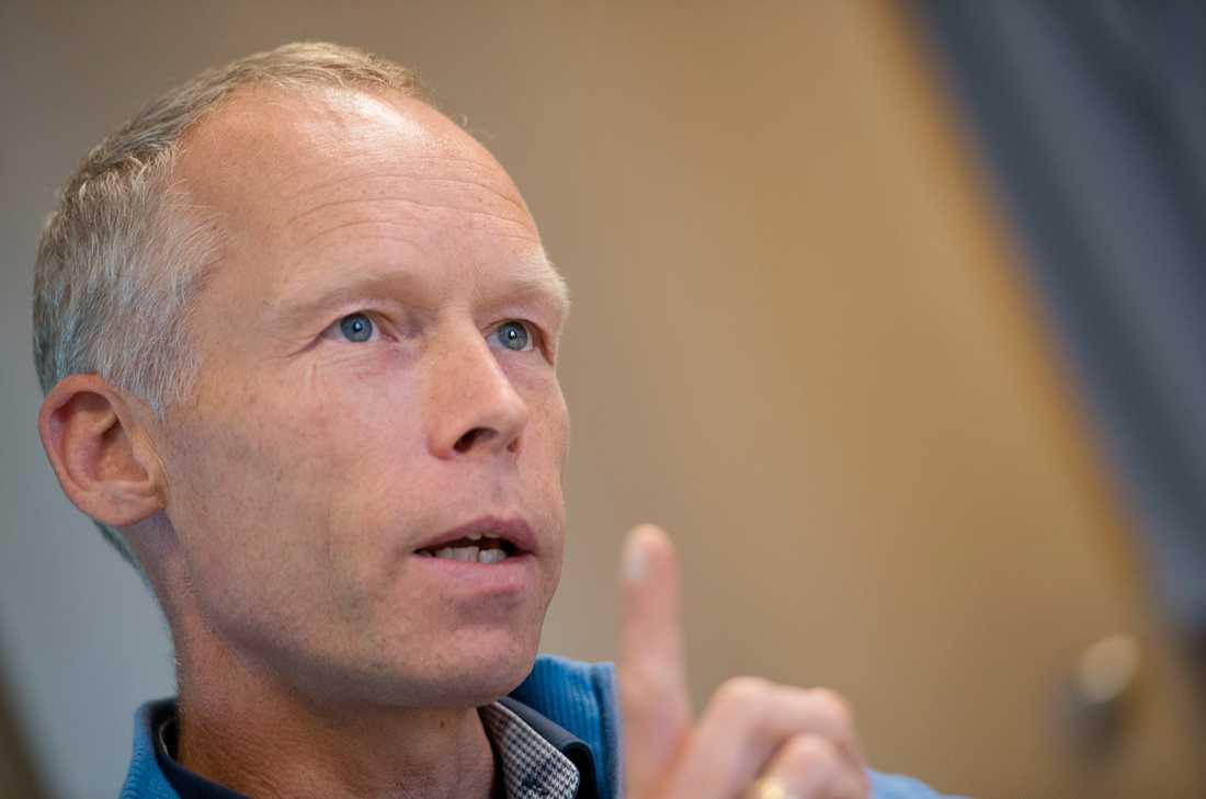 Johan Rockström är professor i miljövetenskap och chef för Potsdaminstitutet för klimatforskning i Berlin. Arkivbild.
