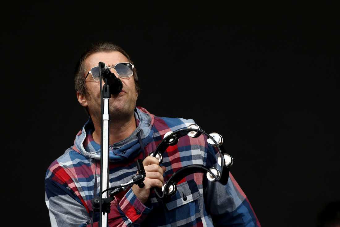 Liam Gallagher på Glastonburyfestivalen 2019. Arkivbild.
