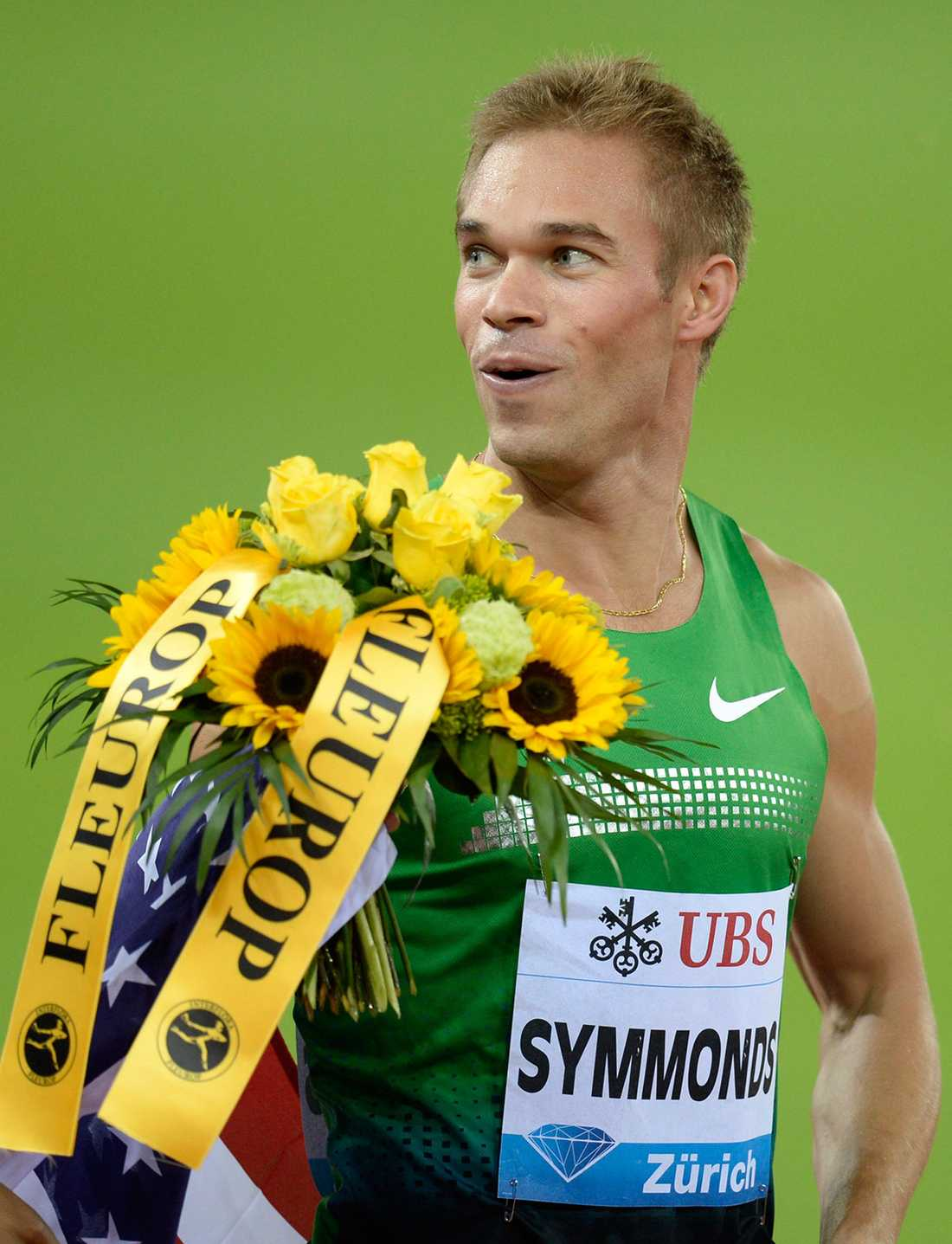 Symmonds vid Diamond League.