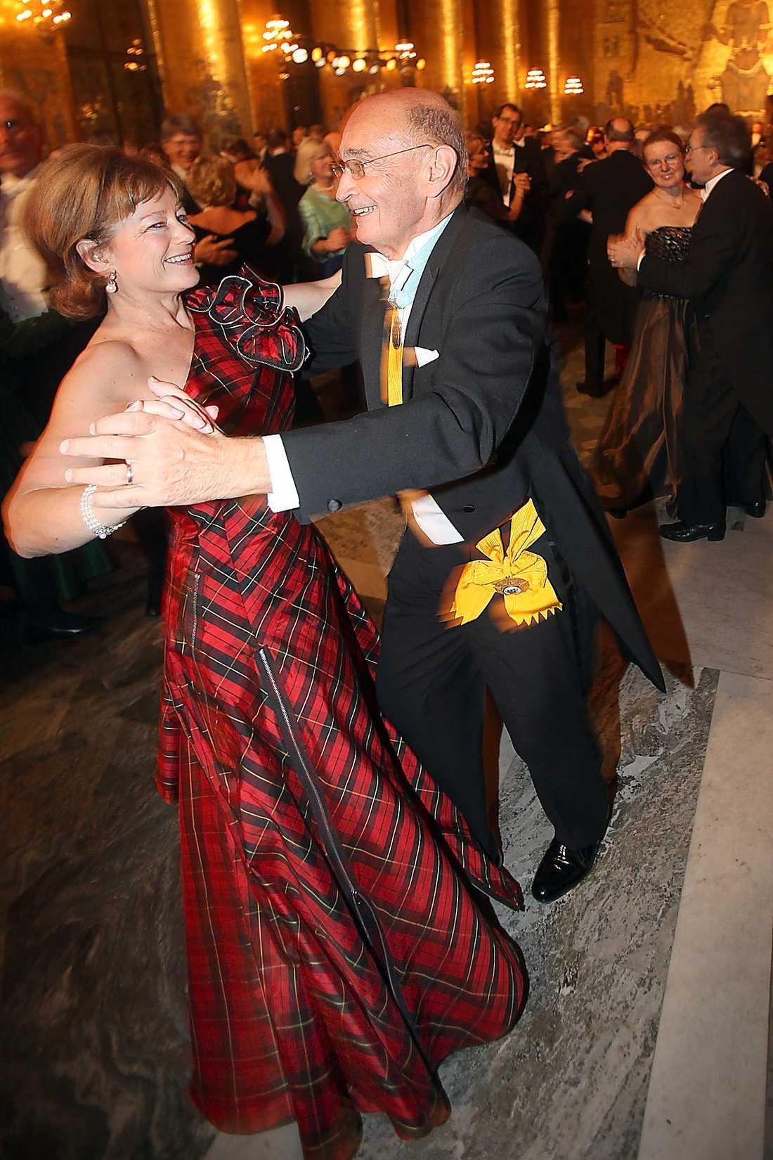 2008 bar kulturministern Lena Adelsohn Liljeroth en riktig rock'n'roll-outfit som man aldrig kommer att glömma. I skotskrutigt rockade hon galan.