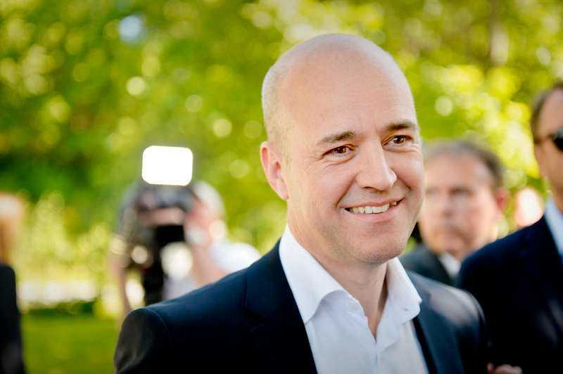 I den nya mätningen från Aftonbladet/United Minds knappar alliansen in rejält.  Fredrik Reinfeldt (M).