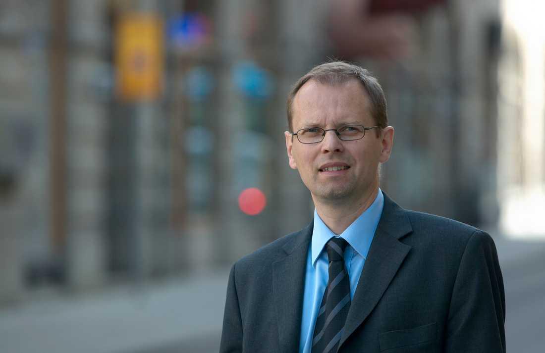 Lars Malmström, chef för konsumentenheten vid Finansinspektionen.