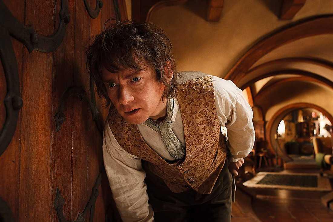 """Martin Freeman som Bilbo i """"Hobbit: En oväntad resa""""."""