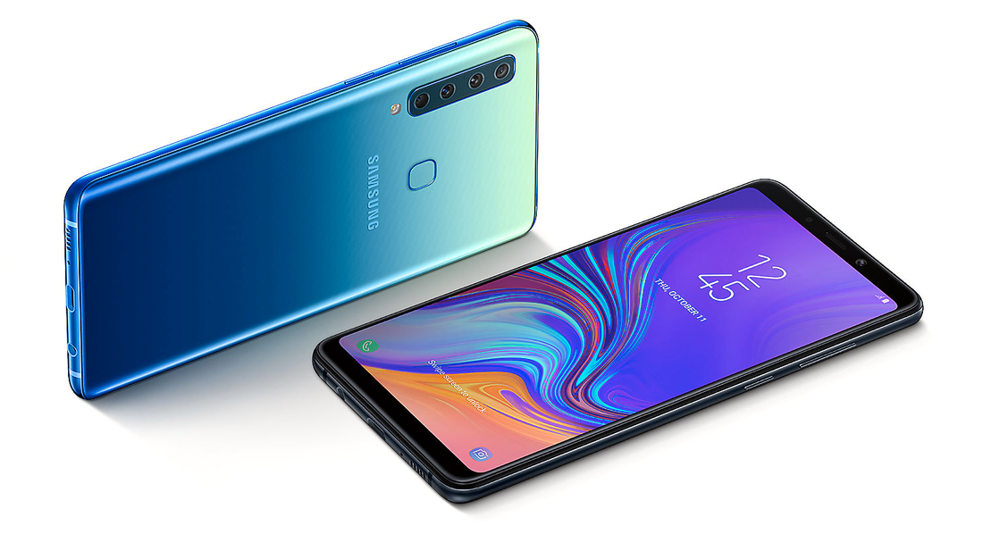 Nya Samsung Galaxy A9 (2018).