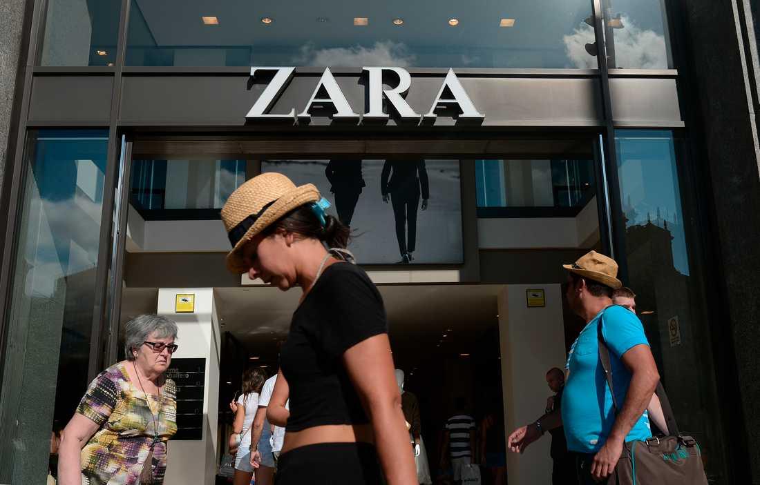 Inget utdelningsförslag från Inditex, som driver klädkedjan Zara. Arkivbild.