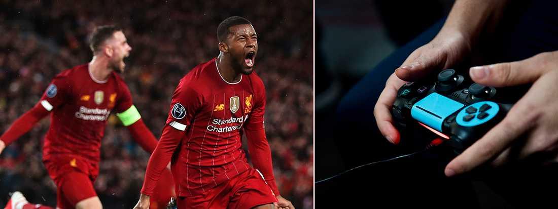 TV-spelsljud i högtalarna när Premier League drar i gång?