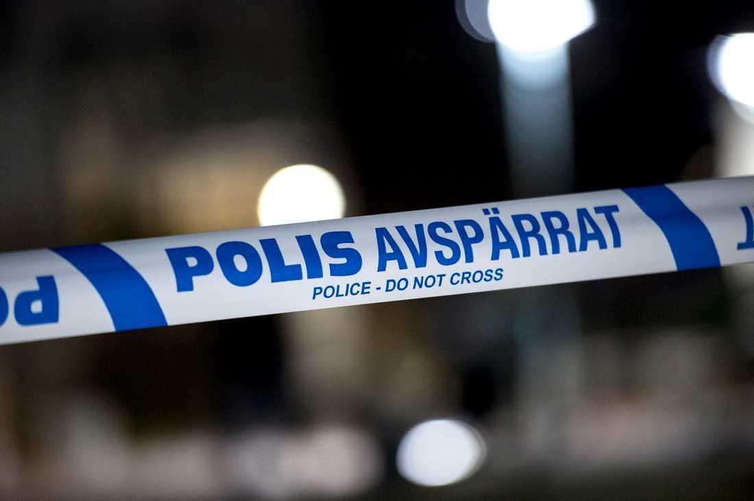 Offret sköts till döds i en lägenhet i södra Stockholm i vintras. Arkivbild