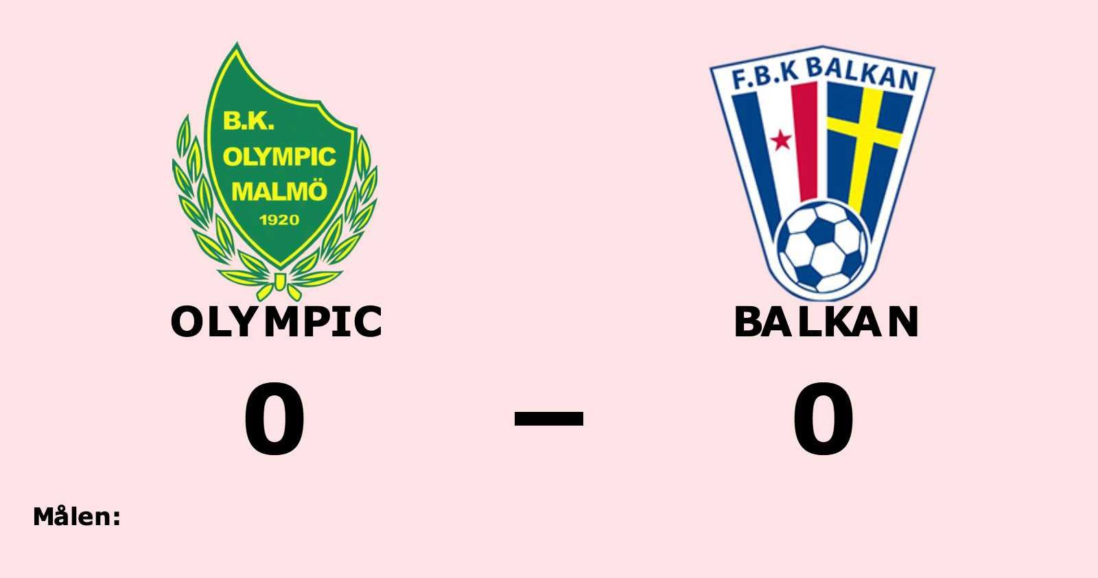 Olympic och Balkan kryssade