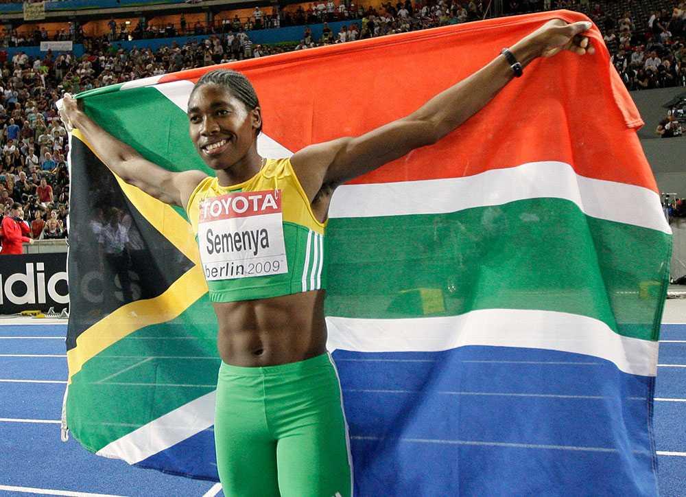 Caster Semenya chockade världen med sin överlägsenhet på 800 meter i Berlin-VM