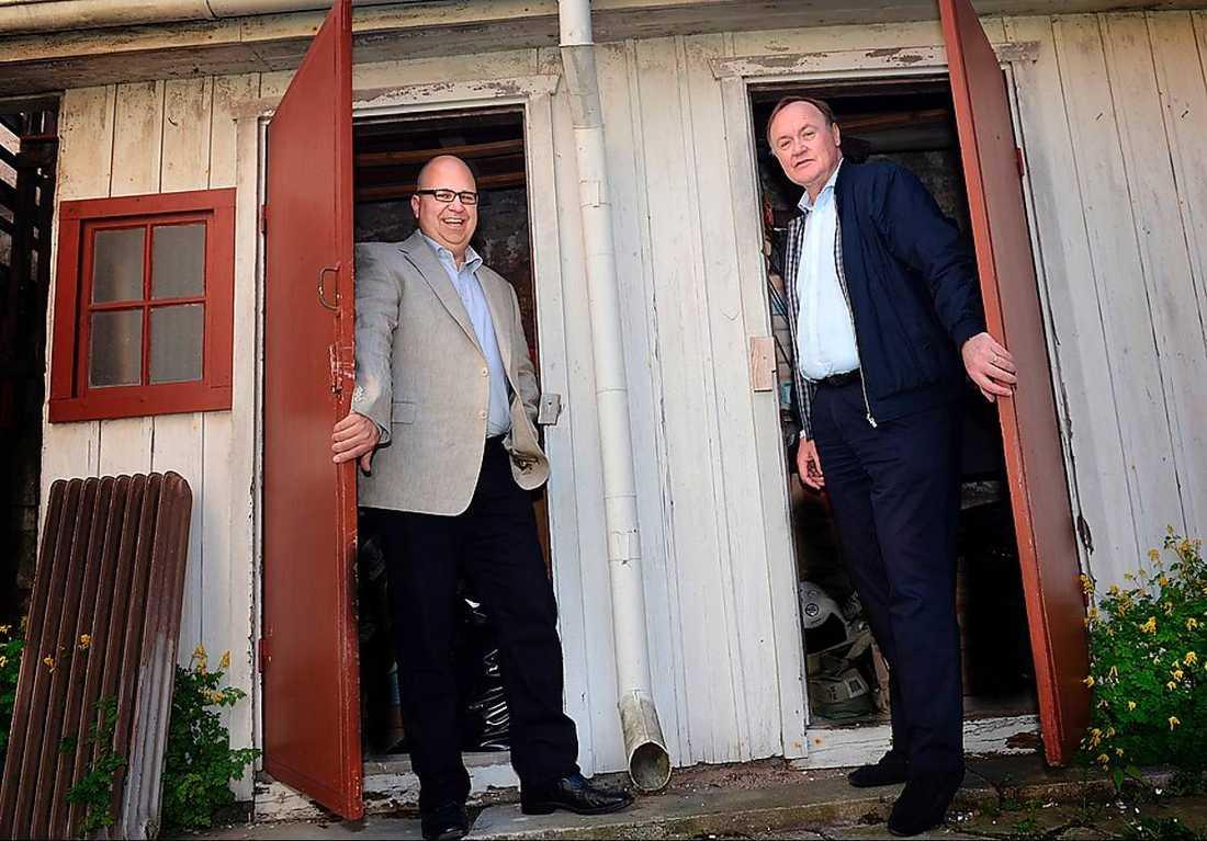 Stänger dörren I går fick LO:s orföfrande Karl-Petter Thorwaldsson beskedet av Svenskt Näringslivs Urban bäckström att den planerade jobbpakten inte bli av.