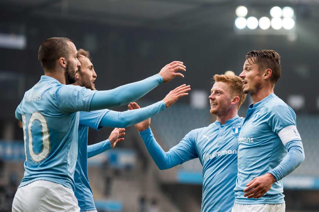 Malmö FF hade lekstuga mot HJK Helsingfors.