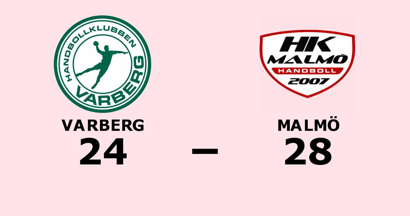 Segerraden förlängd för Malmö - besegrade Varberg