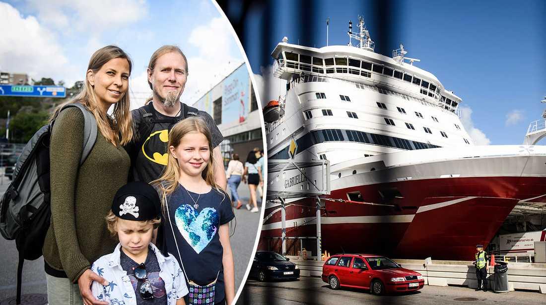 Rederierna i Sverige slår rekord i sommar – mycket tack vare den svaga kronan.