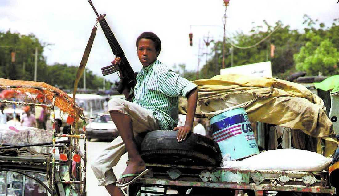Läkaren var stationerad vid det svenska fältsjukhuset i Mogadishu under kriget i Somalia i början av 1990-talet.