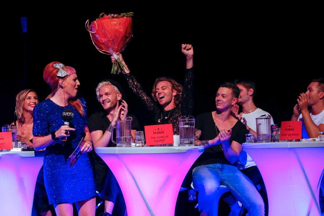 The Lovers of Valdaro går vidare till Melodifestivalen 2019.