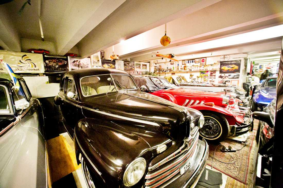 Corvette-Robban har ägt över 300 bilar sammanlagt genom åren.