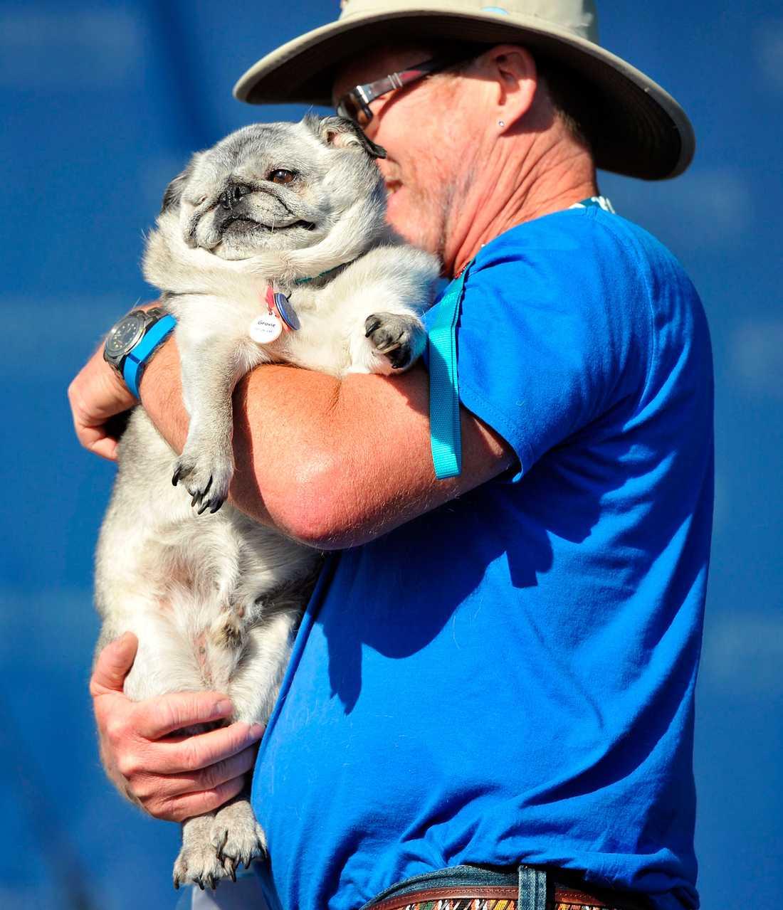Hunden Grove med ägaren Jim Patridge