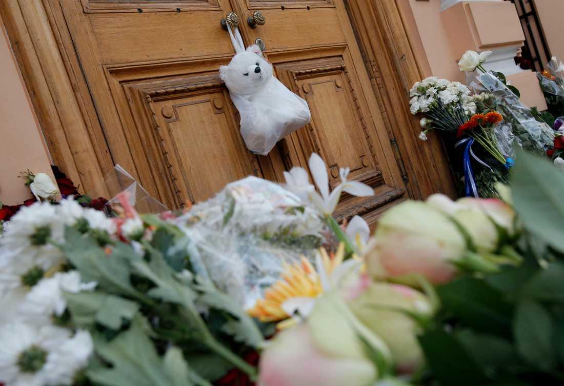 RYSSLAND Norska ambassaden i Moskva.