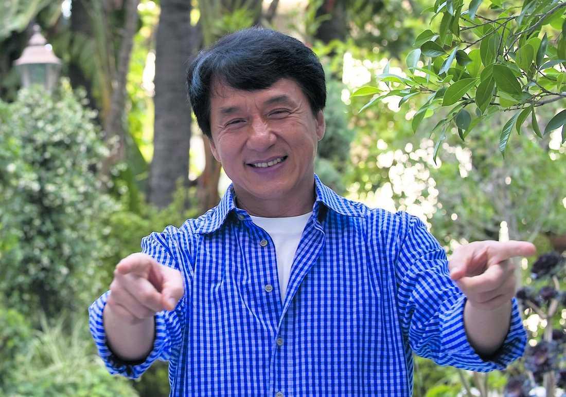 """Hollywoodstjärna Jackie Chan har länge kämpat för att slå igenom i Hollywood. """"Alla sa att de ville jobba med mig, men det var bara snack"""", säger han. Nu är stjärnan aktuell i nyinspelningen av """"Karate kid""""."""