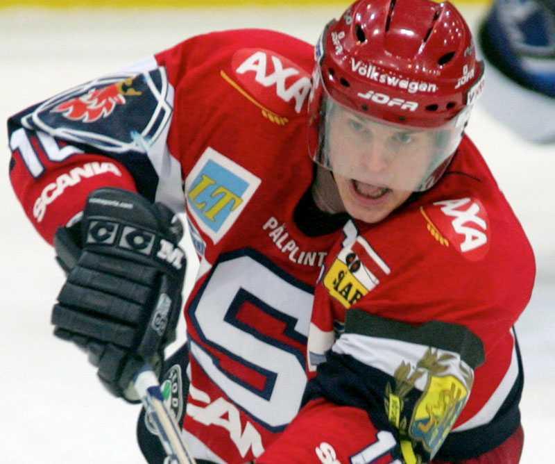 Jocke Eriksson i SSK-tröjan 2005.