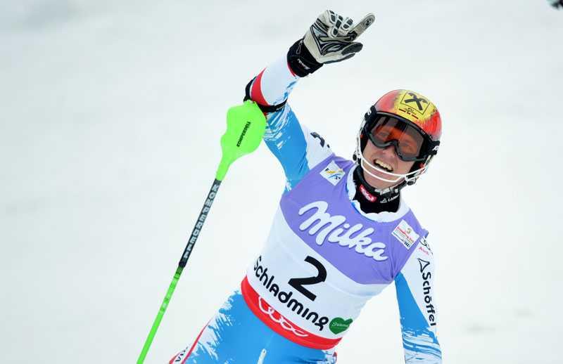 Hirscher kunde frälsa hemmapubliken med första österrikiska individuella guldet i VM.