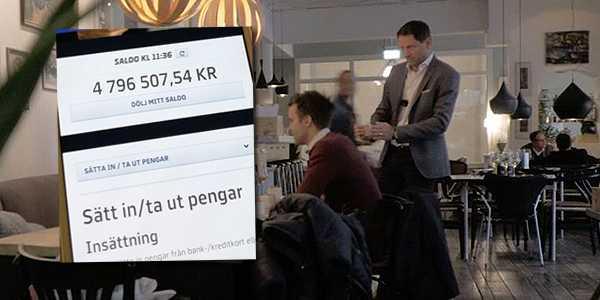 Vinnarna i TV4:s inslag efter vinsten.