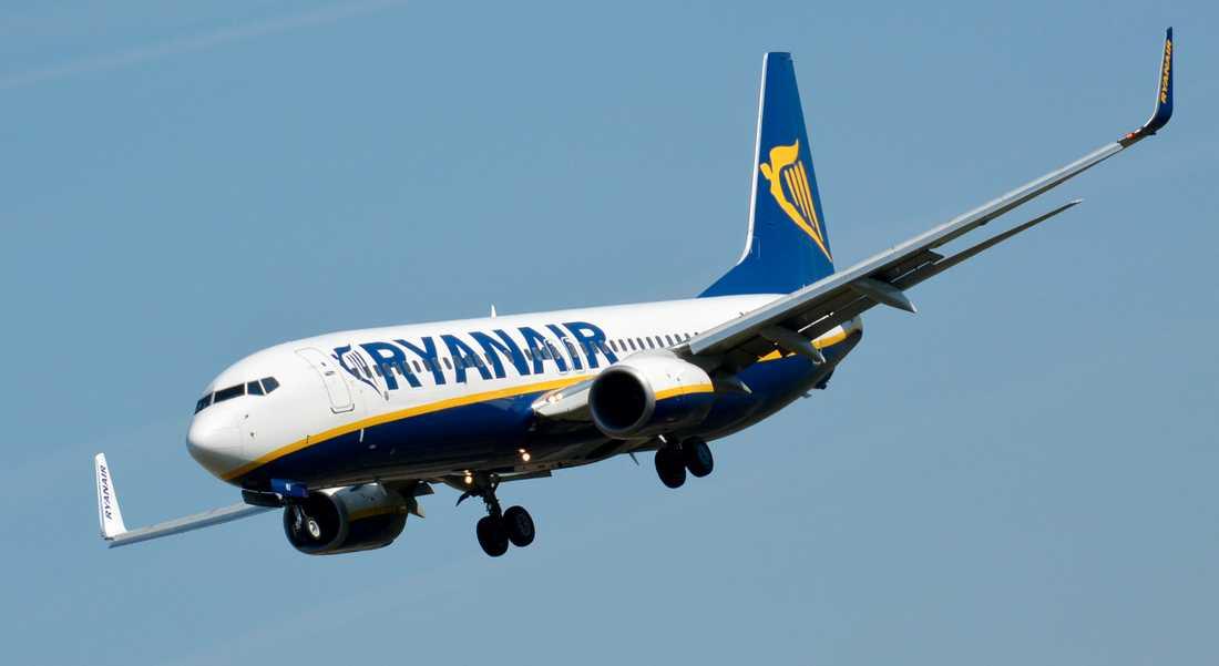 Ryanair säljer fortsatt biljetter till två flyg från London till Skavsta.