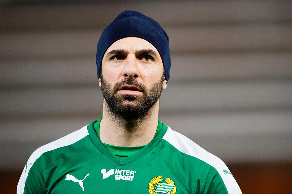 Hammarbys lagkapten om säsongen.