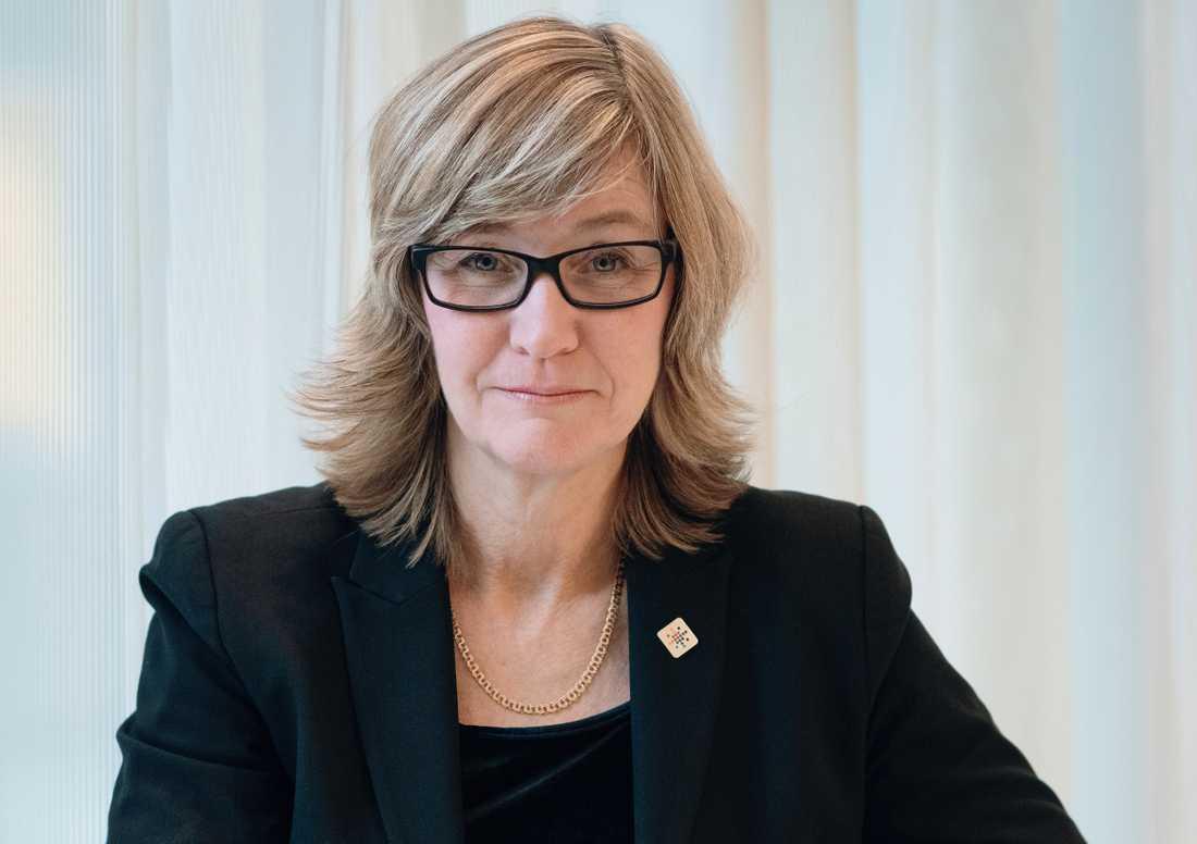 Camilla Frankelius från Sveriges Ingenjörer