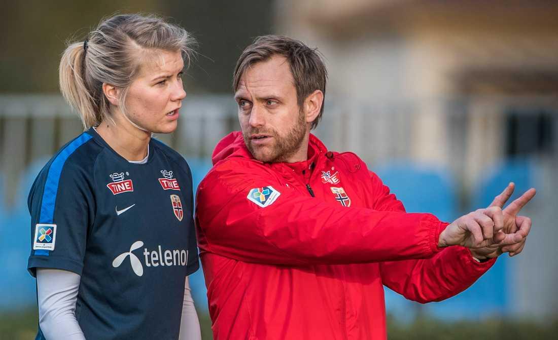 Ada Hegerberg och Martin Sjögren.