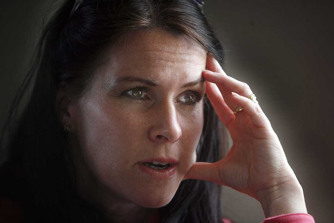 Åsa Waldau blev känd genom Knutbydramat 2004.