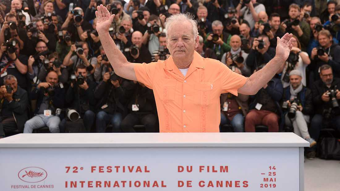 Bill Murray har intagit Cannes.