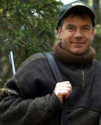 """Thomas Ekberg är proffesionell jägare och medverkade under fyra sägsonger som jaktexpert i TV4:s """"Jakt och fiske""""."""