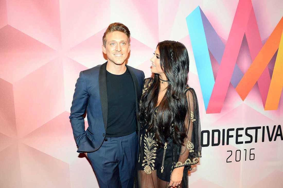Danny Saucedo och Molly Sandén.