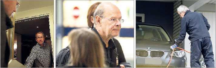 Huvudmän Rolf Swenson, Björn Wigelius, före detta vd för Fojab Arkitektur, och Sven Göran Henriksson, vd för fastighetsbolaget Henova, är tre av de fyra huvudmisstänkta i mutskandalen.