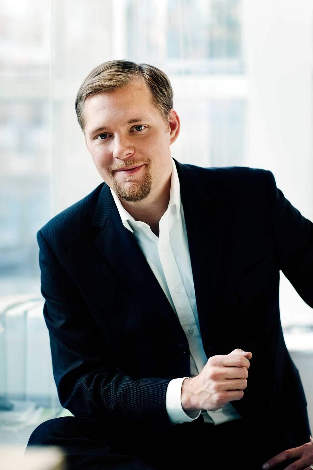 Günther Mårder, sparekonom på Nordnet.