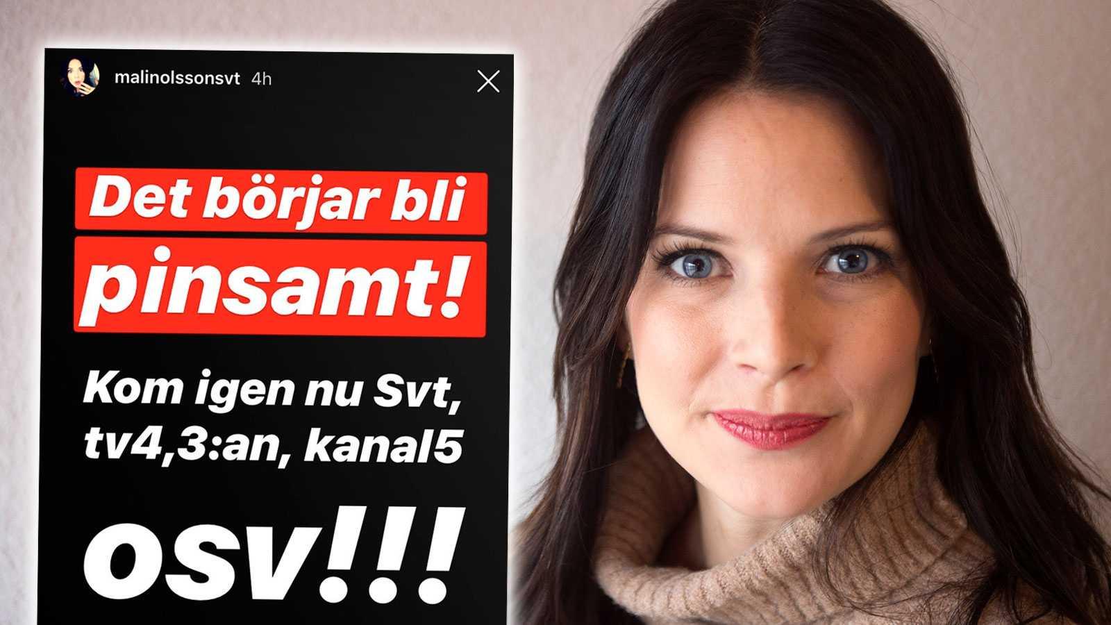 """SVT-profilens hårda kritik: """"Det börjar bli pinsamt"""""""