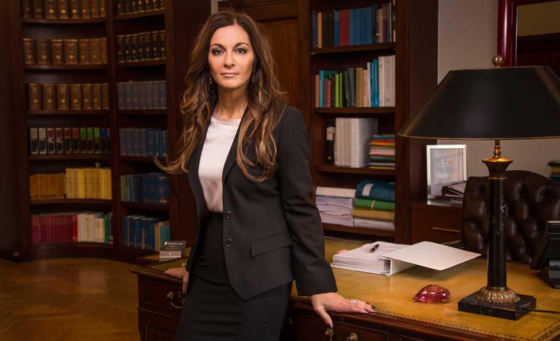 Advokaten Elisabeth Massi Fritz.