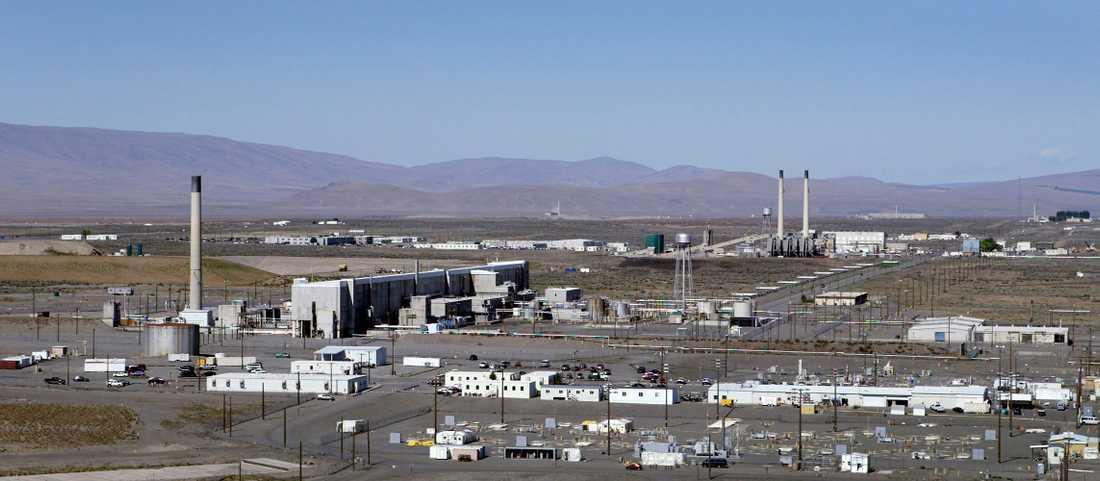 Hanford, en av USA:s mest förorenade platser.