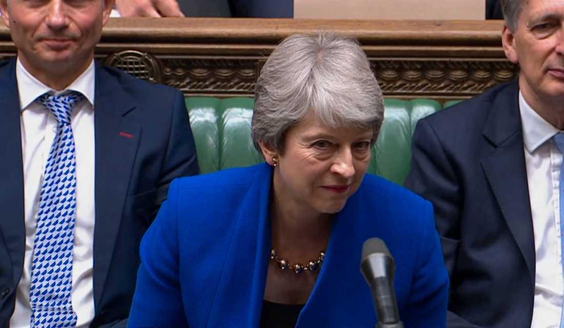 Theresa May svarar på frågor i parlamentet för sista gången innan Boris Johnson tar över som premiärminister.