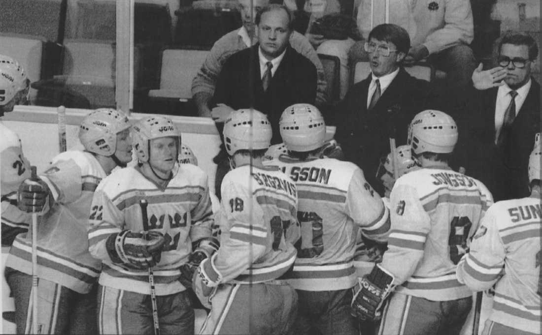 Tre Kronor under Canada Cup 1987
