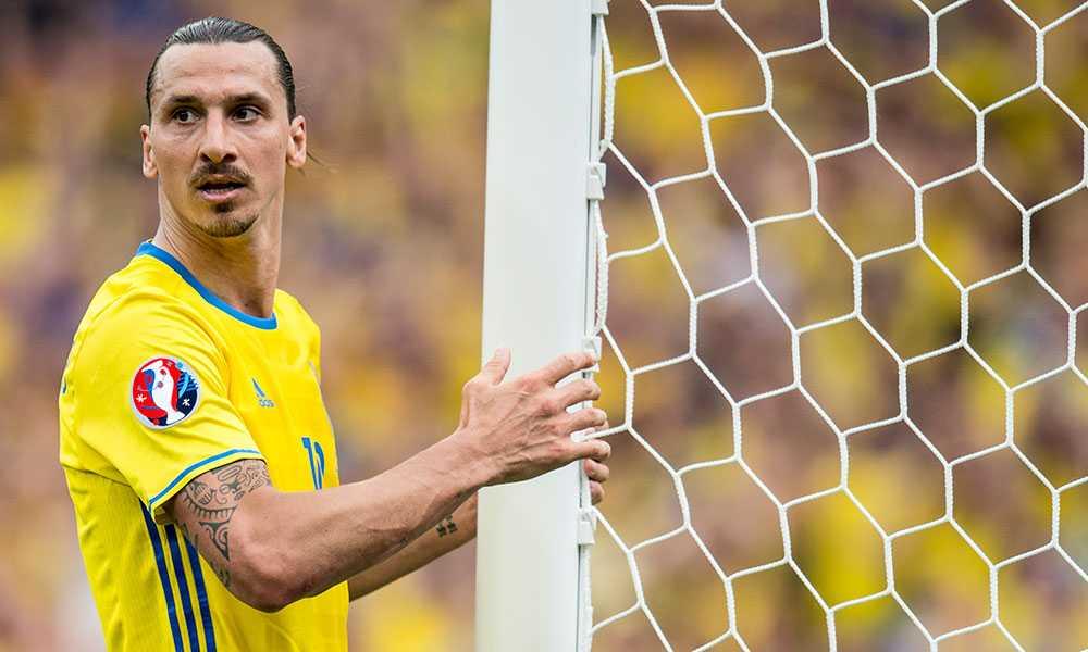 Zlatan Ibrahimovic avslutade sin karriär i landslaget under EM