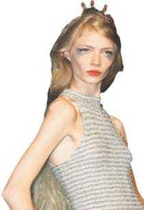 Har gått för långt Jodie Kidd är en av de supermodeller som skulle kunna portas från Modeveckan i Madrid.