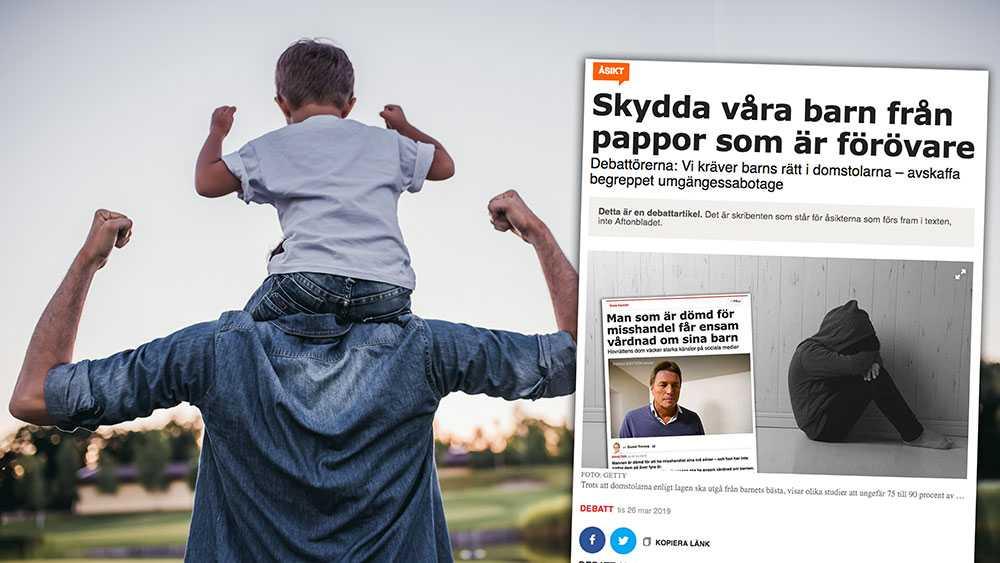 """Från evidensbaserad psykologisk forskning vet vi idag att riskfaktorerna för barn som förlorar kontakten med en """"tillräckligt bra"""" förälder, oftast pappan, är betydande och ofta livslånga, skriver Matts Hertsberg, ordförande PappaBarn,  Anders Fors, vice-ordförande PappaBarn och Sverker Sikström, Professor i psykologi, Lunds universitet,  i en replik."""