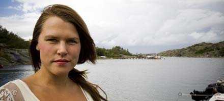 """NÄRA STORSTAD 2004 flyttade Mia Skäringer till Göteborgs skärgård. """"Jag kan inte vara på en plats som inte växer"""", säger hon."""