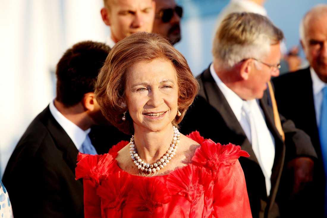 Drottning Sofia av Spanien var en av de celebra gästerna.
