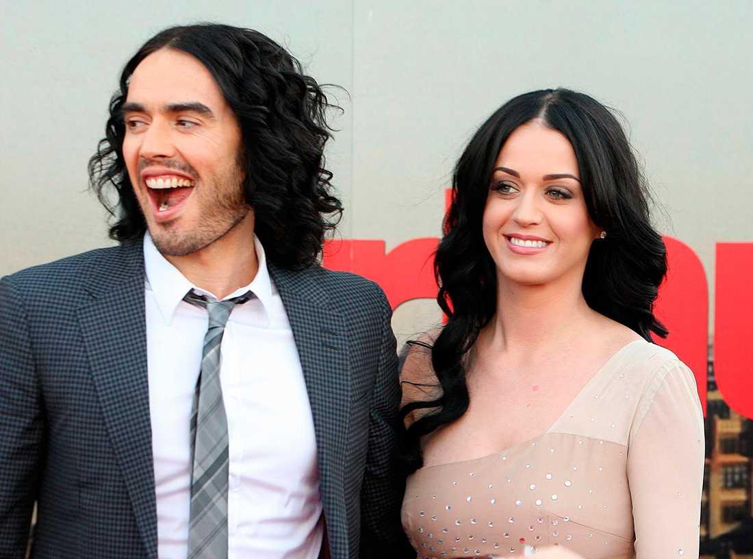 Katy Perry och Russell Brand var tidigare gifta.